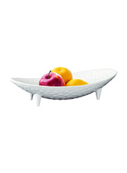 Dinewell 19-inch Fruit Bowl, DWHB0013W, White