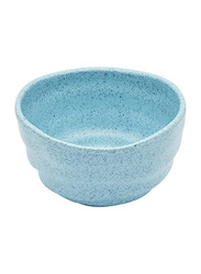 Dinewell 4.25-inch Melamine Blue Speckle Bowl, DWMP029BS, Blue
