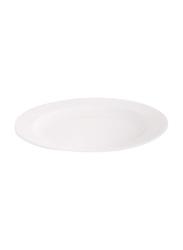 Dinewell 10.5-inch Melamine Topaz Dinner Plate, DWP9002W, White
