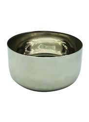 Raj 4.5 Steel Sada Vatti Serving Bowl, SV004.5, 6.5x3.5 cm, Silver