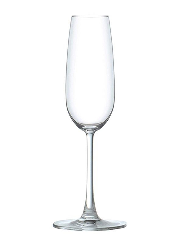 Ocean 210ml 2-Piece Set Madison Flute Champagne Glass, 015F0702, Clear