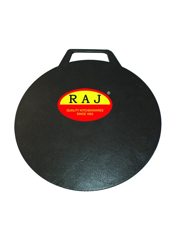 Raj 45cm Non-Stick Arabic Tawa, BBAT45, Black
