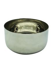 Raj 3 Steel Sada Vatti Serving Bowl, SV0003, 5x2.5 cm, Silver