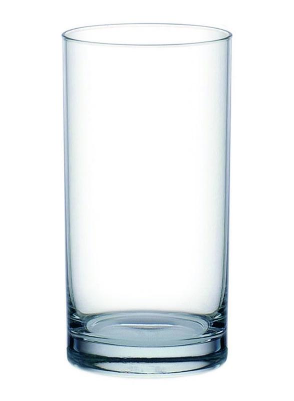 Ocean 280ml 6-Piece Set Fin Line Hi Ball Glass, B01210, Clear