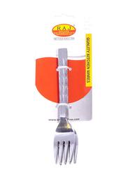 Raj 6-Piece Stainless Steel Symphoney Tea Fork Set, SCTS05, Silver