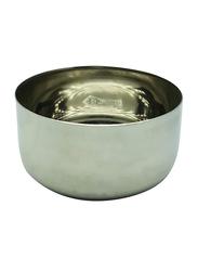 Raj 3.5 Steel Sada Vatti Serving Bowl, SV03.5, 5.5x2.5 cm, Silver