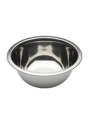 Raj 40cm Stainless Steel Silver Touch Mixing Bowl, MBS040, 40x14 cm, Silver