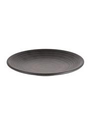 Dinewell 11-inch Melamine Matt Dinner Plate, DWMP025B, Black