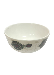 Dinewell 4.5-inch Melamine Jewels Bowl, DWB5008JW, White/Brown