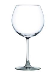 Ocean 650ml 6-Piece Set Madison Burgundy Glass, 015D22, Clear