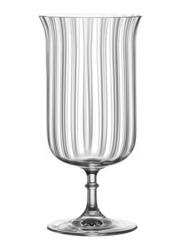 Lucaris 340ml 6-Piece Set Rims Orient Deco Glass, LS13DC12, Clear