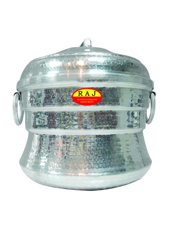 Raj 72-Iddly Aluminium Iddly Pot, AIP072, Silver