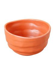 Dinewell 4.25-inch Melamine Terra Cotta Bowl, DWMP029TC, Orange