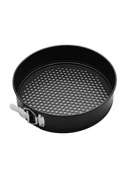 RK 24cm Non Stick Round Clip Baking Pan, 24x24x6.5 cm, Black