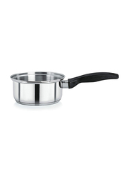 Chefset 1 Ltr Stainless Steel Sauce Pan without Lid, CI5024, 30 cm, Silver