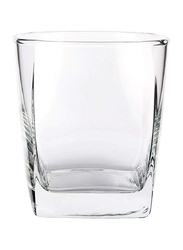 Ocean 295ml 6-Piece Set Plaza Rock Glass, B1101006, Clear