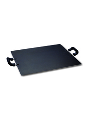 Raj 32cm Multipurpose Square Non-stick Tawa, KMT001, Black