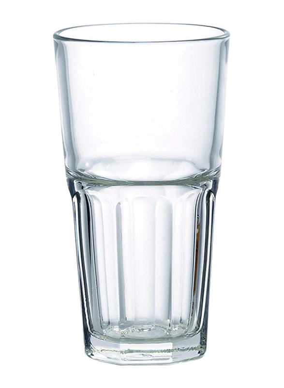 Ocean 420ml 3-Piece Set Centra Hi Ball Glass, P0196203, Clear