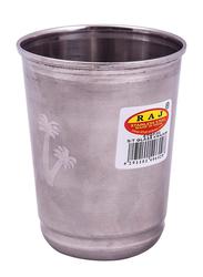 Raj 10cm Stainless Steel Touch Khajur Glass, STGK03, Silver