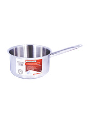 Chefset 7.5 Ltr Stainless Steel Sauce Pan without Lid, CI5025, 24x12 cm, Silver