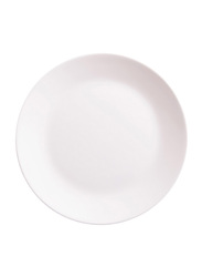 Dinewell 7.5-inch Melamine Side Plate, DWHP3090W, White