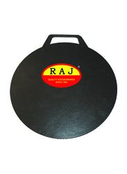 Raj 35cm Non-Stick Arabic Tawa, BBAT35, Black