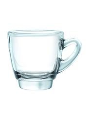 Ocean 65ml 6-Piece Set Kenya Glass Espresso Cup, P01642, Clear