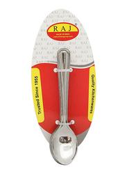 Raj 12-Piece Stainless Steel Royal Tea Spoon Set, RC0004, Silver