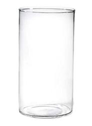 Borosil 270ml 6-Piece Vision Elegance Flute Borosilicate Glass, BVVIBVEF270, Clear