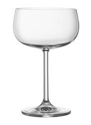 Lucaris 355ml 6-Piece Set Rims Coupe Glass, LS12CU12, Clear