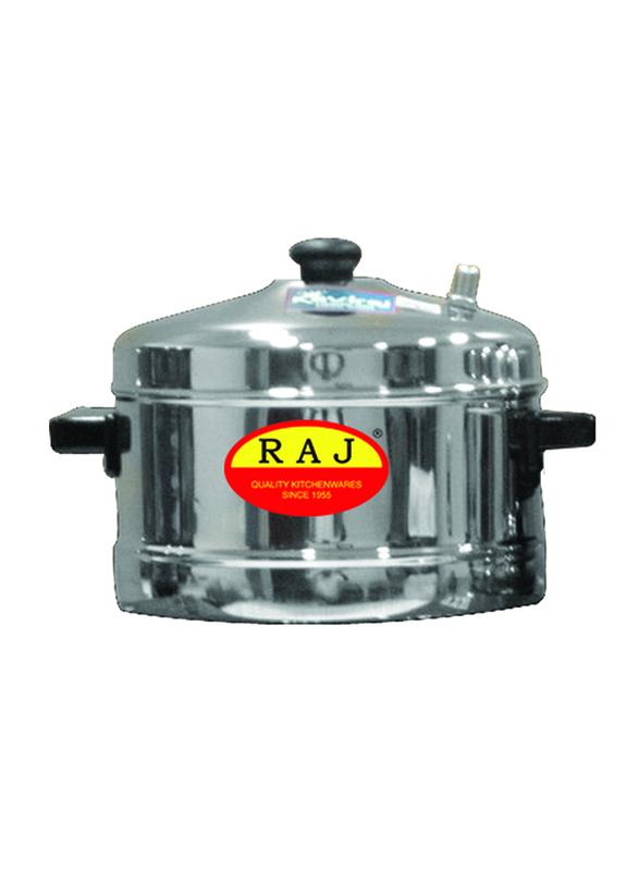 Raj 3-Part Iddly Cooker, KIC003, 21.5x12.5 cm, Silver