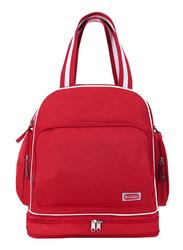 Sunveno Signature Maternity Diaper Backpack Bag, Red
