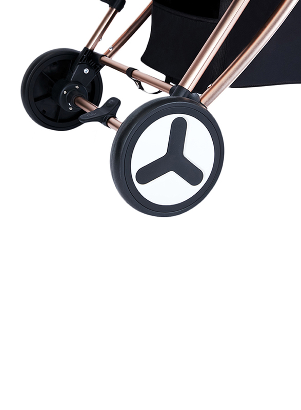 Teknum Feather Lite A1 Traveller Baby Stroller by Aimile, Grey
