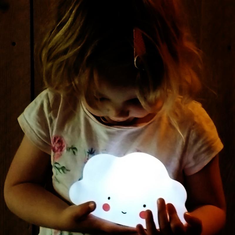 Eazy Kids Cloud Shape Lamp Light, Blue