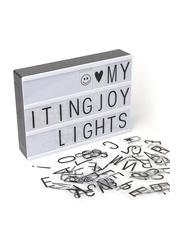 Eazy Kids Letter Light Box, A4, White