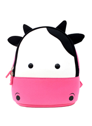 Nohoo Jungle Backpack Bag for Girls, Cow, Pink/White