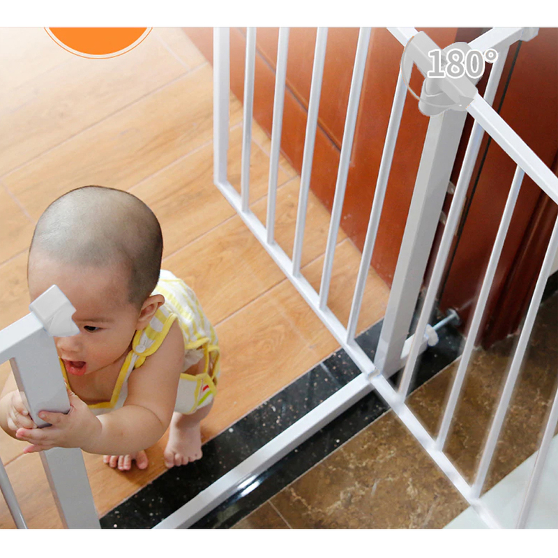 Baby Safe Safety Gate Extension, 10cm, White