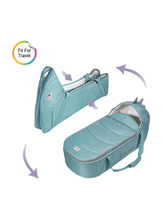 Sunveno Foldable Travel Baby Carry Cot, Green