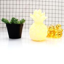 Eazy Kids Pineapple Shape Lamp Light, Yellow