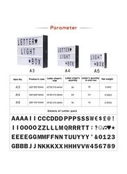 Eazy Kids Letter Light Box, A5, White