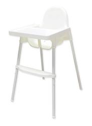 Teknum H1 High Chair, White