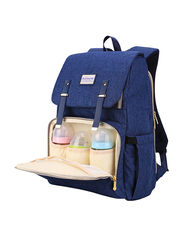 Sunveno Travel Diaper Backpack Bag, XL, Blue