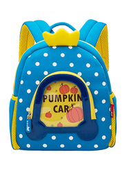 Nohoo WoW Backpack Bag for Kids, Pumpkin Carriage, Blue