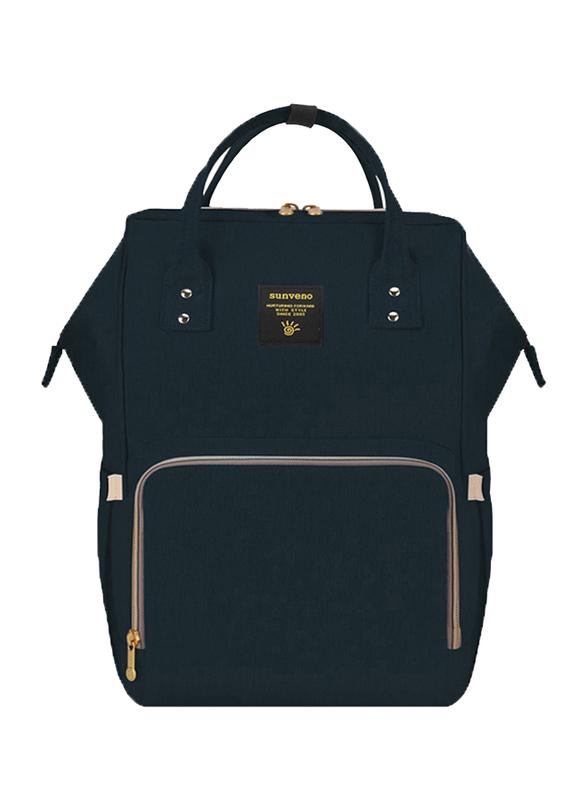 Teknum 3-in-1 Pram Stroller with Sunveno Black Diaper Bag and Hooks, Khaki