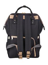 Teknum 3-in-1 Pram Stroller with Sunveno Black Diaper Bag and Hooks, Wine