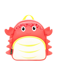 Nohoo Ocean Backpack Bag for Boys, Crab, Red
