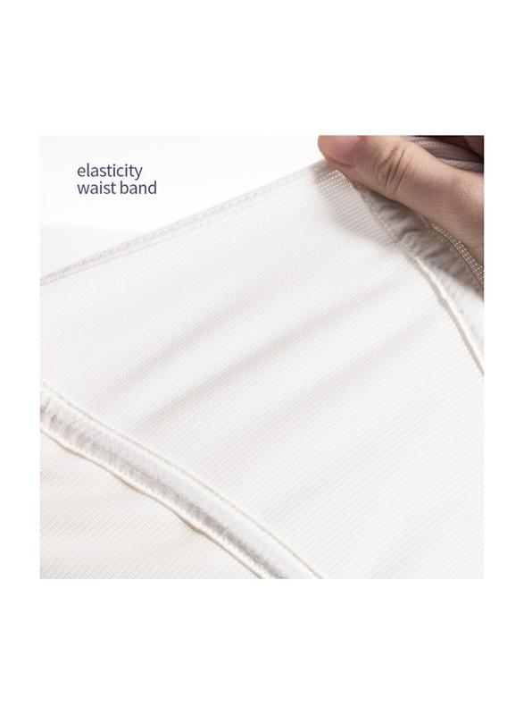 Sunveno Breathable Postpartum Abdominal Belt, White, Large