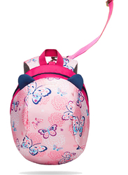 Sunveno Backpack Bag for Kids, Butterfly, Pink
