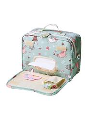 Sunveno Diaper Changing Clutch Kit, Unicorn, Large, Green