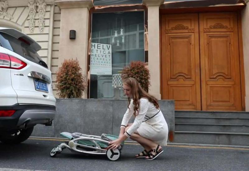 Teknum Feather Lite Traveller A1 Stroller, Green